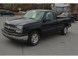 2005 Dark Blue Metallic Chevrolet Silverado 1500 Regular Cab #55709496