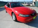 2003 Torch Red Ford Mustang V6 Convertible #55709194