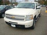 2012 White Diamond Tricoat Chevrolet Silverado 1500 LTZ Crew Cab 4x4 #55708922