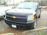 2012 Black Chevrolet Silverado 1500 Work Truck Crew Cab 4x4 #55708906
