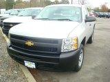 2012 Silver Ice Metallic Chevrolet Silverado 1500 Work Truck Regular Cab #55708903