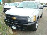 2012 Silver Ice Metallic Chevrolet Silverado 1500 Work Truck Regular Cab #55708902