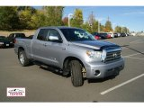 2008 Silver Sky Metallic Toyota Tundra Limited Double Cab 4x4 #55708888