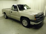 2006 Silver Birch Metallic Chevrolet Silverado 1500 Work Truck Regular Cab #55709440