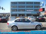 2001 Titanium Silver Metallic BMW 3 Series 330xi Sedan #55709133