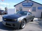 2010 Cyber Gray Metallic Chevrolet Camaro LS Coupe #55709424