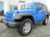 2011 Cosmos Blue Jeep Wrangler Sport S 4x4 #55709127