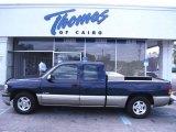 1999 Indigo Blue Metallic Chevrolet Silverado 1500 LS Extended Cab #55709410