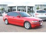 2005 Electric Red BMW 3 Series 325i Sedan #55709398