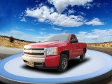 2008 Victory Red Chevrolet Silverado 1500 LS Regular Cab #55757204