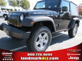 2012 Black Jeep Wrangler Rubicon 4X4 #55756741
