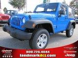 2012 Cosmos Blue Jeep Wrangler Sport 4x4 #55756739