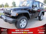 2012 Black Jeep Wrangler Sport 4x4 #55756738