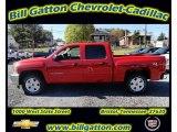 2012 Victory Red Chevrolet Silverado 1500 LT Crew Cab 4x4 #55757182
