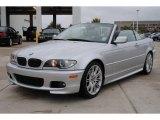 2006 Titanium Silver Metallic BMW 3 Series 330i Convertible #55756898