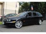 2007 Jaguar X-Type Ebony Black