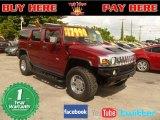 2003 Red Metallic Hummer H2 SUV #55757089