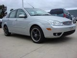 2005 CD Silver Metallic Ford Focus ZX4 ST Sedan #55779541