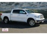 2012 Super White Toyota Tundra Platinum CrewMax 4x4 #55779162