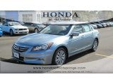 2012 Celestial Blue Metallic Honda Accord EX-L V6 Sedan #55779524