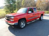 2007 Victory Red Chevrolet Silverado 1500 Classic Z71 Extended Cab 4x4 #55757074