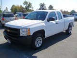 2012 Summit White Chevrolet Silverado 1500 Work Truck Extended Cab #55757064