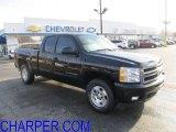 2011 Black Chevrolet Silverado 1500 LTZ Extended Cab 4x4 #55779858