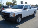 2012 Summit White Chevrolet Silverado 1500 Work Truck Extended Cab #55757060