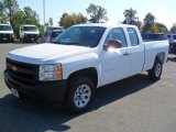 2012 Summit White Chevrolet Silverado 1500 Work Truck Extended Cab #55757059