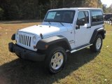 2012 Bright White Jeep Wrangler Sport S 4x4 #55757054