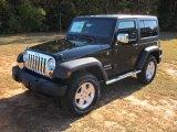 2012 Black Jeep Wrangler Sport S 4x4 #55757053