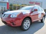2012 Cayenne Red Nissan Rogue SL #55779479