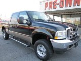 2004 Black Ford F250 Super Duty Lariat Crew Cab 4x4 #55779469