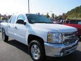2012 Summit White Chevrolet Silverado 1500 LT Crew Cab #55779462