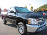 2012 Black Chevrolet Silverado 1500 LT Regular Cab #55779461