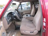 1995 Ford F150 XL Extended Cab 4x4 Beige Interior