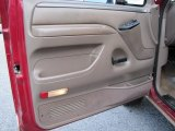 1995 Ford F150 XL Extended Cab 4x4 Door Panel