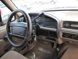 1995 Ford F150 XL Extended Cab 4x4 Dashboard