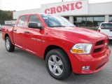 2012 Flame Red Dodge Ram 1500 Express Crew Cab #55779414