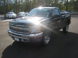 2012 Black Granite Metallic Chevrolet Silverado 1500 LS Regular Cab 4x4 #55779755
