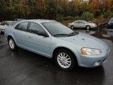 2002 Sterling Blue Satin Glow Chrysler Sebring LX Sedan #55779395