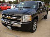 2009 Black Chevrolet Silverado 1500 LT Crew Cab 4x4 #55779351
