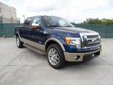 2011 Dark Blue Pearl Metallic Ford F150 King Ranch SuperCrew #55756815