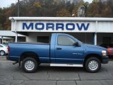 2006 Atlantic Blue Pearl Dodge Ram 1500 ST Regular Cab 4x4 #55779333