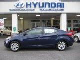 2012 Indigo Night Blue Hyundai Elantra GLS #55779295