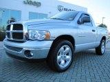2005 Bright Silver Metallic Dodge Ram 1500 SLT Regular Cab #55756763