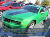 2010 Synergy Green Metallic Chevrolet Camaro LT Coupe #55756758