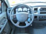 2007 Dodge Ram 1500 SLT Quad Cab Steering Wheel