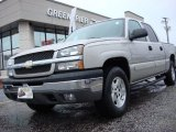 Silver Birch Metallic Chevrolet Silverado 1500 in 2004