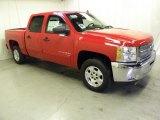 2012 Victory Red Chevrolet Silverado 1500 LT Crew Cab #55779641
